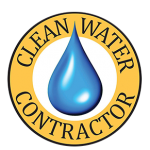Clean Water Contractor Logo